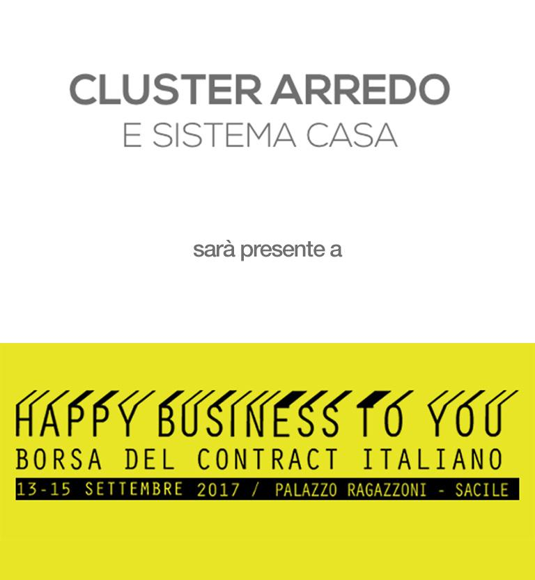 Happy business to you for Cluster arredo